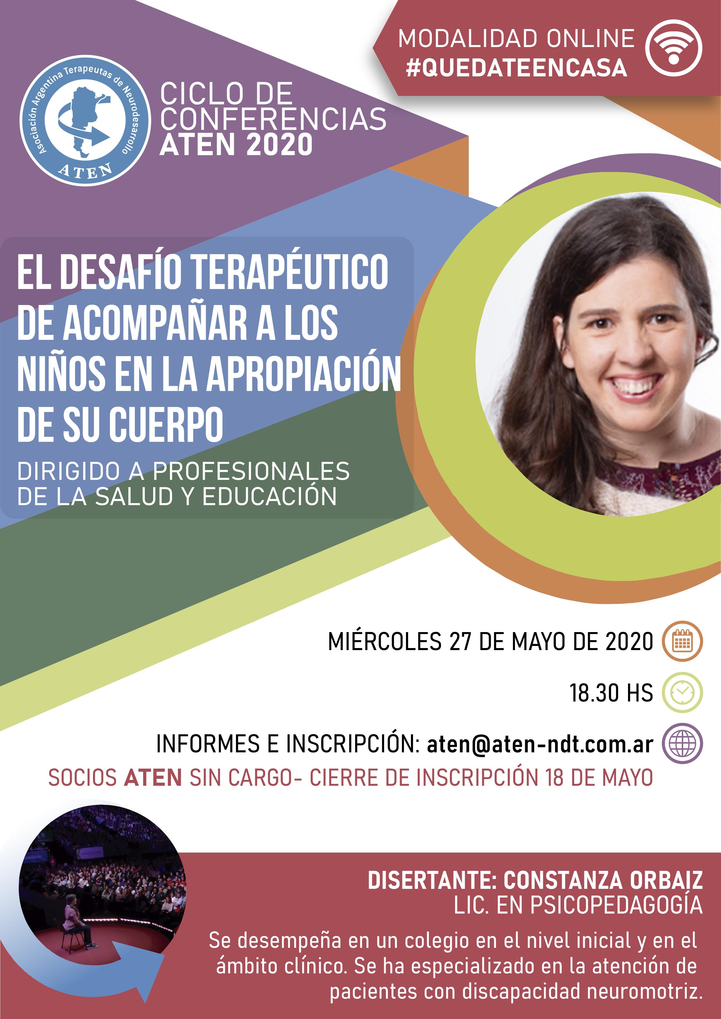 Flyer Primera Conferencia 2020