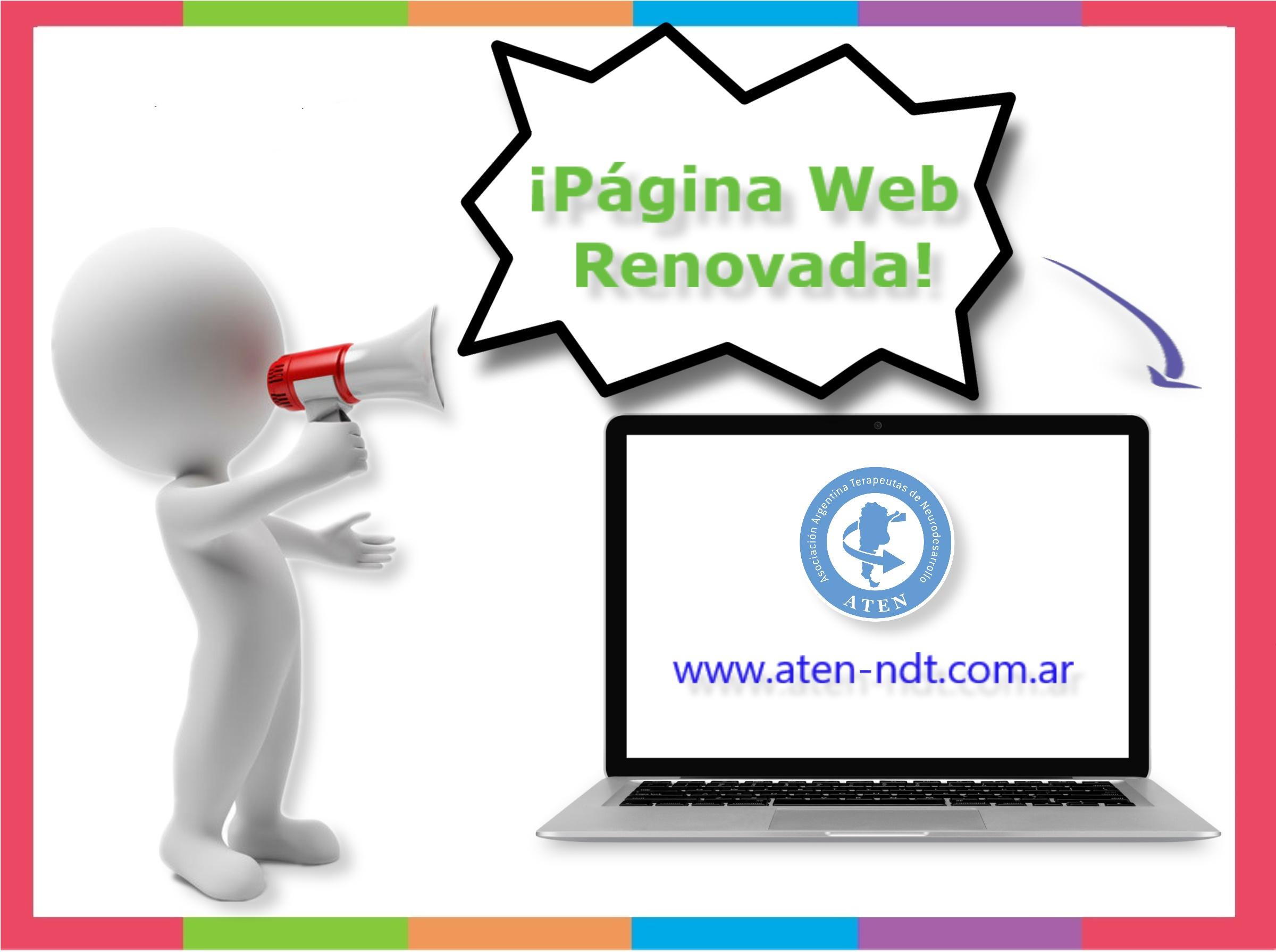 Página web renovada