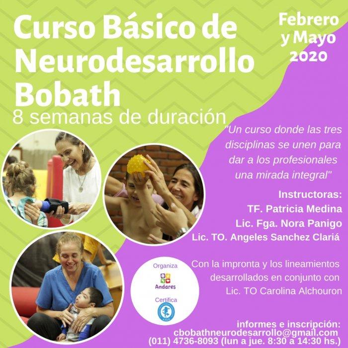 Flyer Curso Básico Pediátrico de Neurodesarrollo - Concepto Bobath