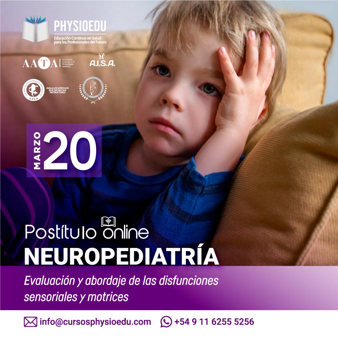 flyer Postitulo Neuropediatría marzo 2021