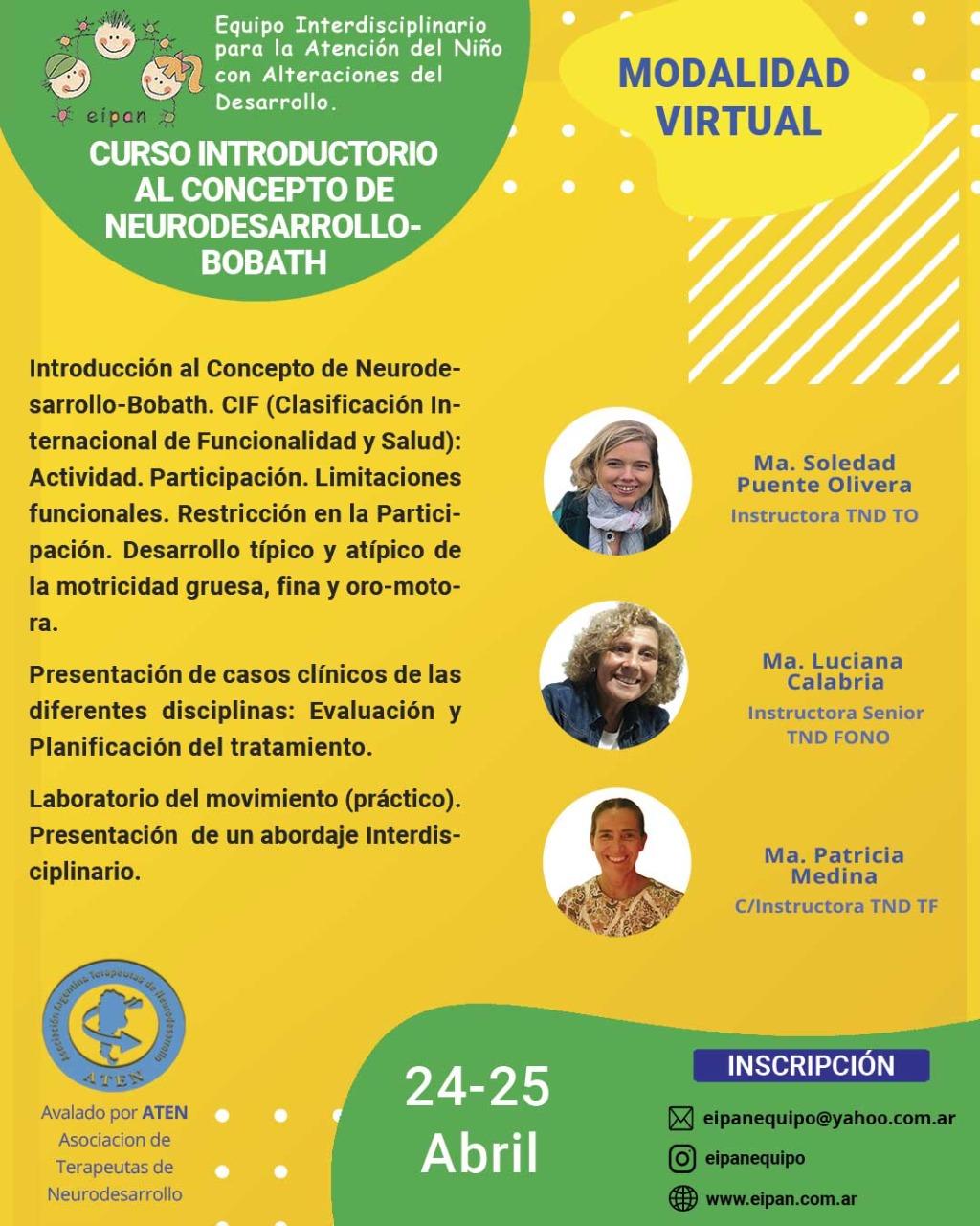 Flyer Introductorio Eipan Virtual
