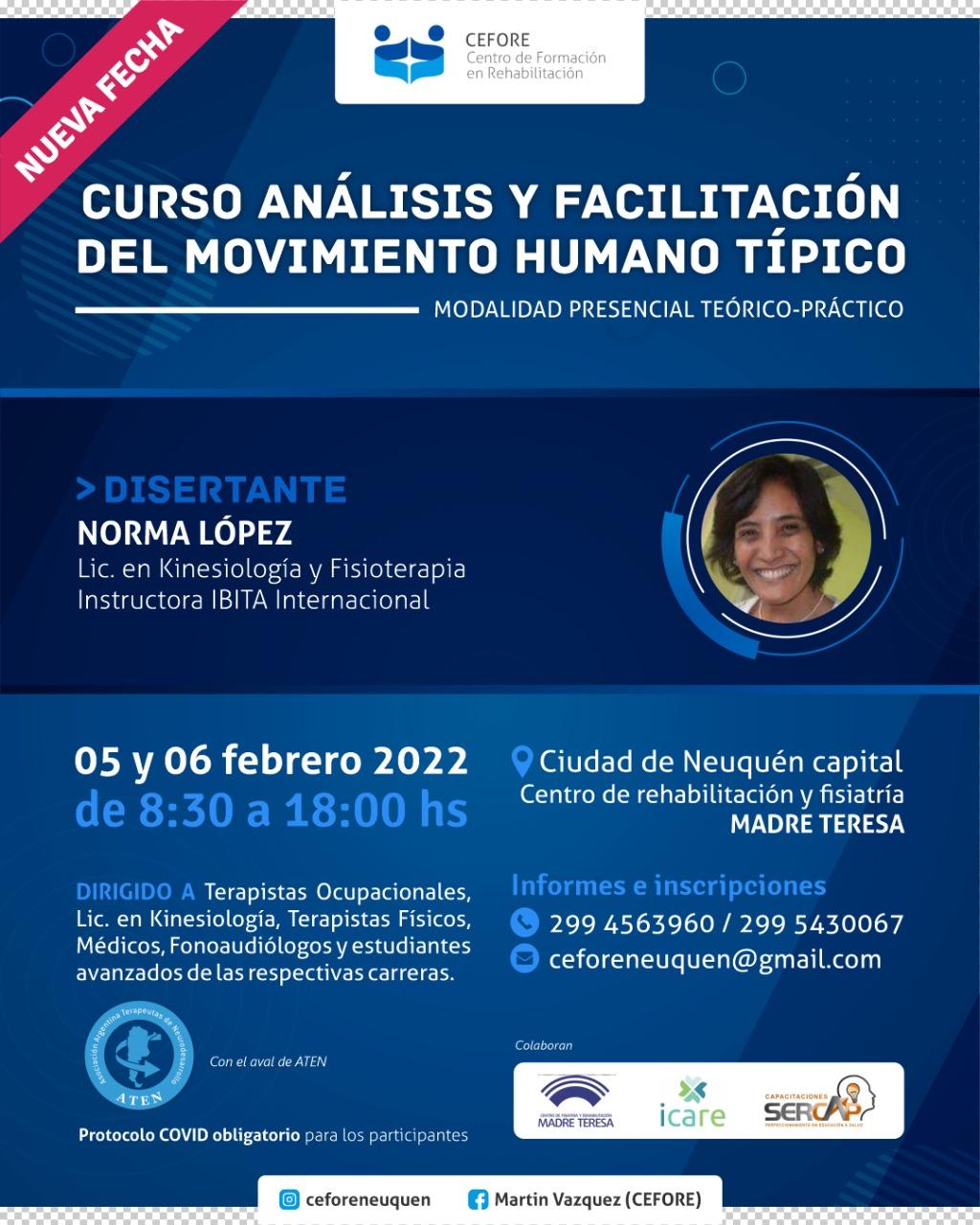 Flyer Análisis y Facilitación Cefore