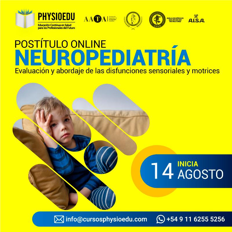 flyer Postitulo Neuropediatría agosto 2021
